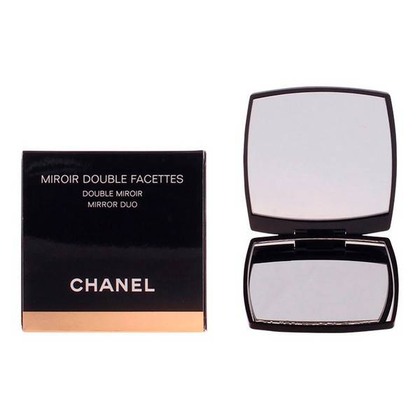 Double Mirror with Magnifier Chanel Black
