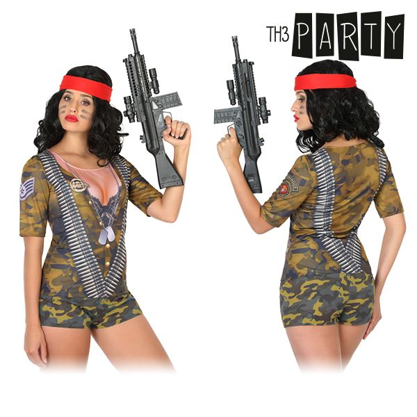 Adult T-shirt 6535 Female soldier