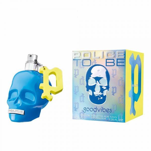 Men's Perfume To Be Good Vibes Police EDT