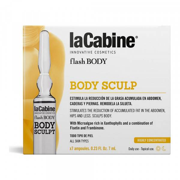 Ampoules Flash Body laCabine Gearbox (7 x 7 ml)