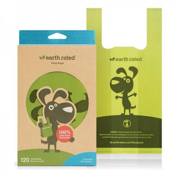 Bags Earth Rated Perfume free Pets (120 uds)