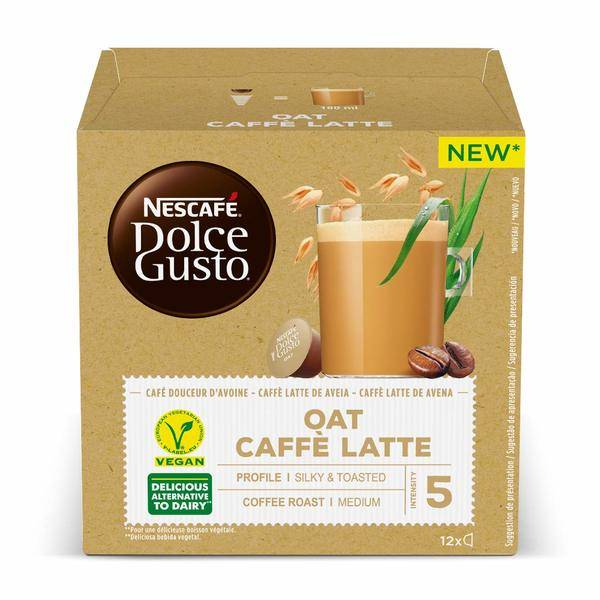 Coffee Capsules Dolce Gusto White coffee Oatmeal (12 uds)