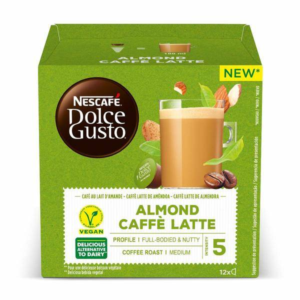 Coffee Capsules Dolce Gusto White coffee Almond (12 uds)