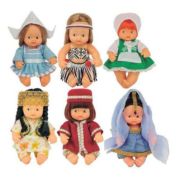 Baby doll Barriguitas World doll