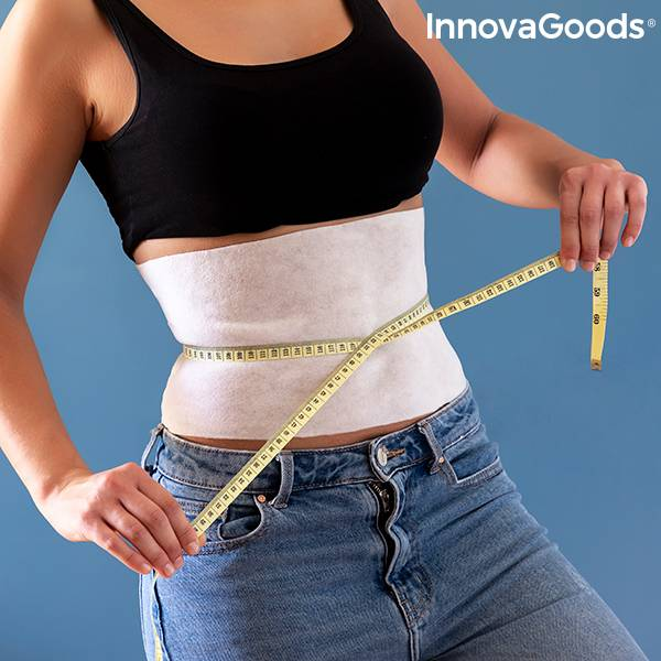Abdominal Slimming Band with Natural Extracts Slybell InnovaGoods (pack of 4)